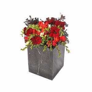 گلدان گل سنگی