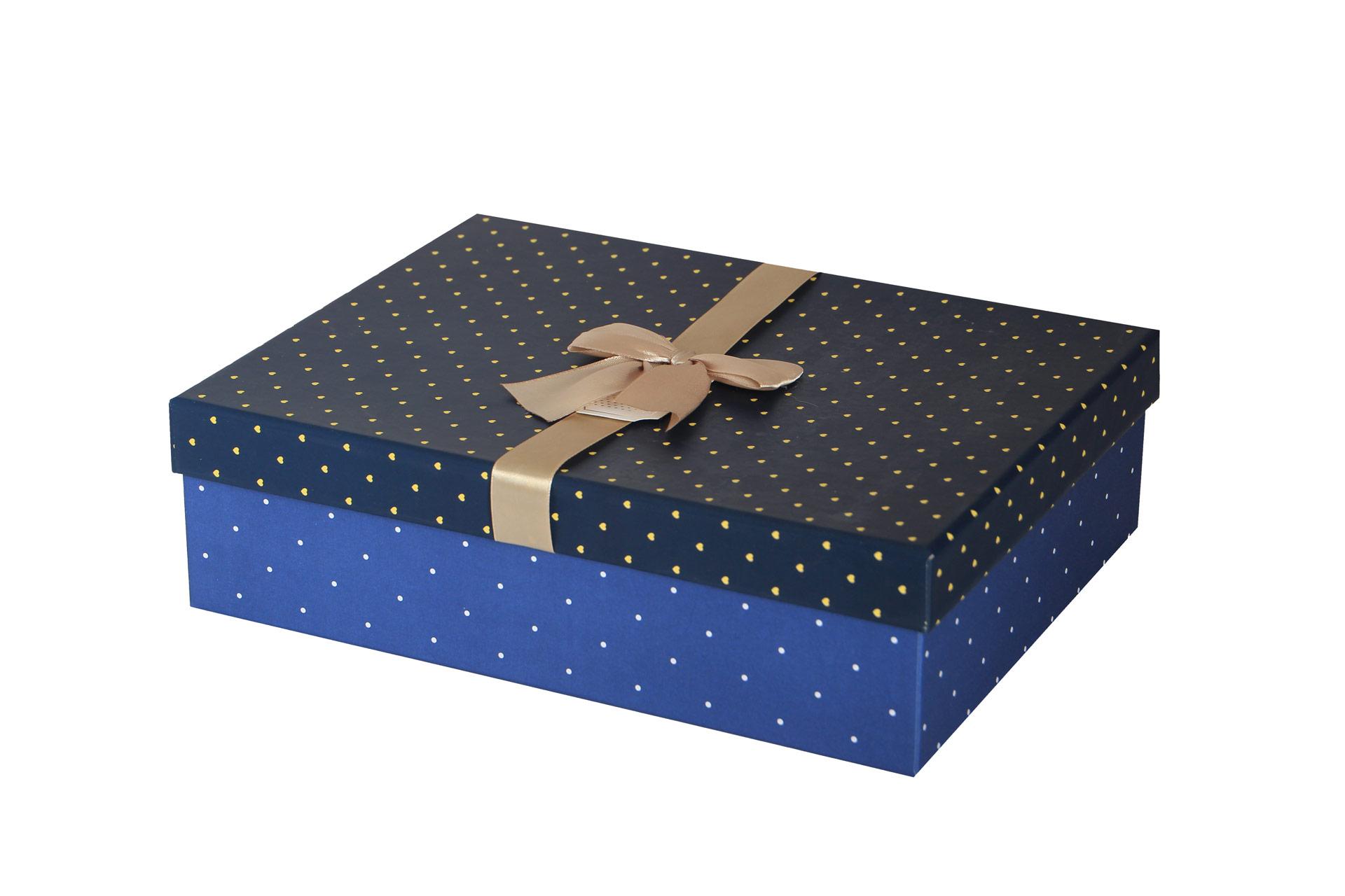 جعبه مقوایی روبان دار